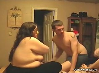 Amateur Chubby Homemade Swingers