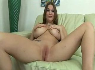 Beautiful Brunette Far Natural Tits Gets A Creampie