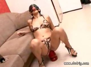 Dirty Submissive SlutKarmen Stretches Her AssWith..