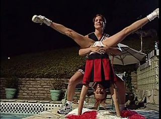 Cheerleader Flexible Lesbian Uniform