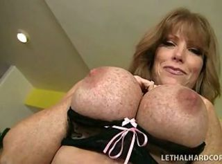 Big titty Mommy and her young daughter