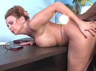 Janet Mason cougar play hard booty games with blacksome boy _: milf ass hardcore