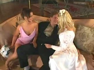 Horny neglected wedding night Michelle Katz and..