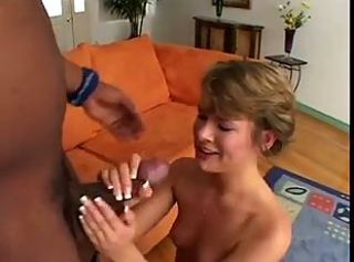 Supercute Claire Robbins sucks and swallows a lot of cum!