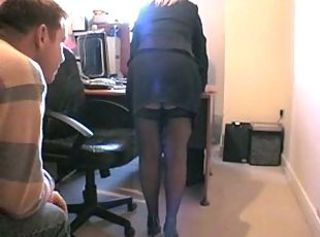 mature British blonde sucks and fucks 2 younger guys