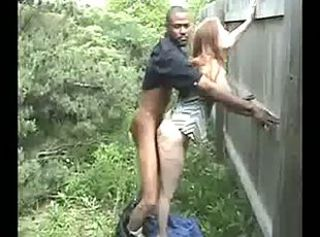"Wife does BBC in the bushes behind work!"" target=""_blank"