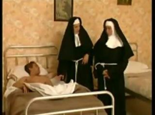 2 nuns in an obstacle hospital