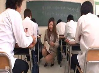 Japanese Teacher gets a Homework Part1 ...F70