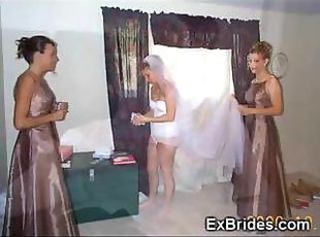 Real Brides Feigning Their Pussies!