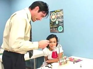Ruby Knox uses gets nasty with her science teacher