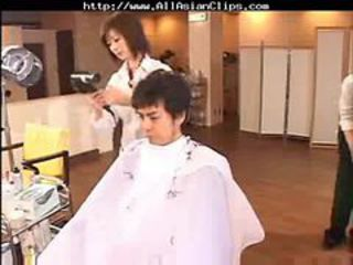Barber Off limits - asian cumshots asian swallow japane...