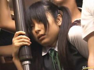 Asian Teen Obtaining Fucked In Influence a rear With Her School Uniform First of all