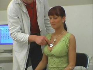 European Redhead Gets Fucked and Covered in Cum Apart from Horny American Doctor