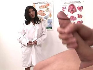 Gorgeous Nurse Brittany Harper Gives A Handjob To A Lucky Patient