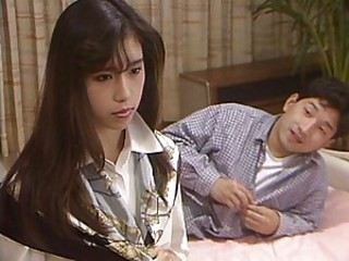 Young Japanese loves solo erotic