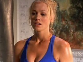 Mesmerizing Yvonne Strahovski In a Cock-Bursting Tight Sporty Machine