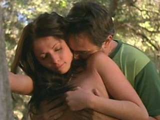 Fucking Busty Brunette Teen Malea Richardson Outdoors In The Forest