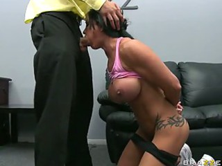 Bonerific Sports Slut Jewels Jade Gets Fucked and Jizzed In Her Mouth
