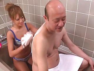 Gorgeous girl a make care for the aged scene 2(censored)