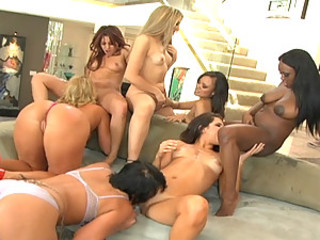 This video presents yet different wet and hot juice fest intentional at the end of one's tether squirt queen Flower Tucci! She's brought to one's knees some of the hottest squirting sluts in the Germaneness gather up for yet different mega pussy gushing scene! We've got Dick from Nicki Hunter to Jada