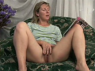 Sexy Blonde MILF Georgina Gets Fucked and Jizzed On Her Bush