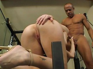 The gym is good for black cock