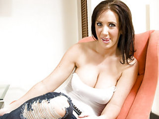 Jayden Jaymes doesn't waste time!