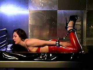 Cruel Dominatrix Tortures and Suffocates Her Lesbian Sex Slave
