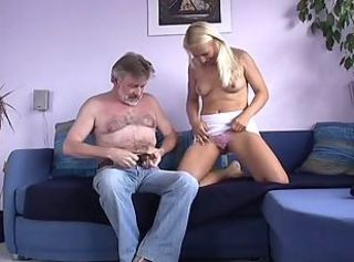 German Teen with Oldmen
