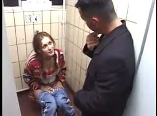 "German Slut gets it on Toilet"" target=""_blank"