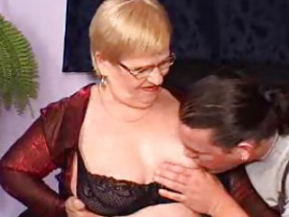 Chubby mature is replicate penetrated hard
