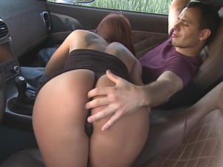 Euro Babe Gets Horny Riding a Sports Car and Now Wants Anal Sex