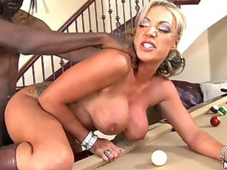 Hot European MILF Carmen Jay Loving the Big Black Cock