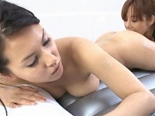 Sexy Asian Models Having Lesbian Intercourse
