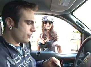 Mad policewoman anal drilling came to hot threesome with creampie end!