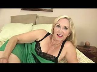 Blonde Granny Plays with Herself _: fingering grannies matures