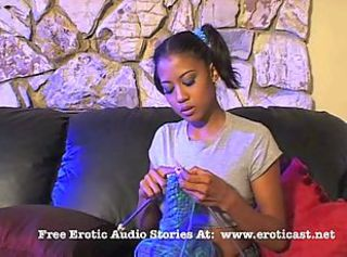 Amateur Babysitter Cute Ebony Teen