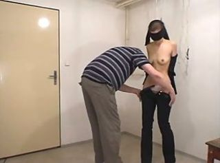 young slave _: amateur bdsm spanking