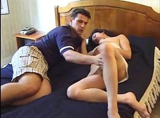 Guy Fucking His friend     ;s mom In The Ass