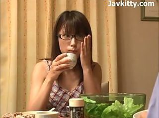Oversexed Japanese Girl In Glasses