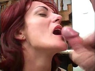 Mother seduced young son after a long time they are home alone