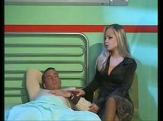 Female nurse starts a hot hospital 4-way _: gangbang hardcore vintage
