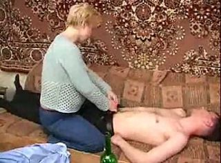 Mother Seduced Drunk Daughter