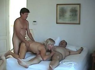 Group Sex - 2 Couples _: amateur group matures