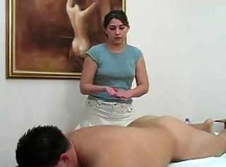 Amateur Brunette Massage Oiled Small Tits Teen