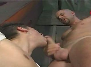 Daddy stuck his cock deep in my mouth