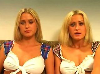 Amateur Big Tits Blonde European MILF Twins