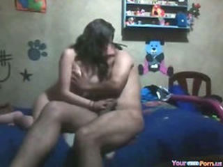 Horny Girl First Homemade Sextape