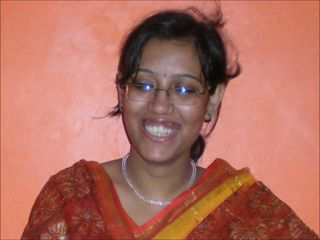 Amateur Glasses Indian Teen
