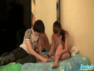 creampie taboo sex of step Fellow-citizen and young Unskilful Teen couple